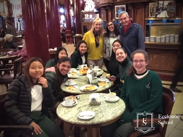 Visita al Café Tortoni